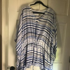 Catherines caftan style blouse